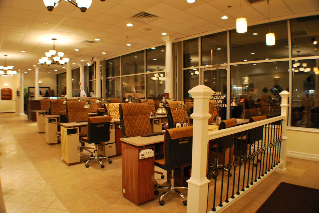 Nail & Hair Care Spa inside