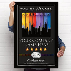 2019 City Beat News Spectrum Award Poster