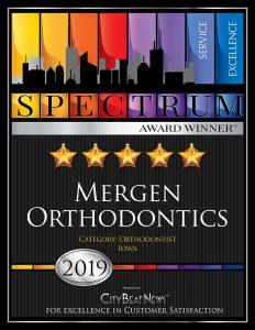 Mergen Orthodontics, 2019 Spectrum Award Winner