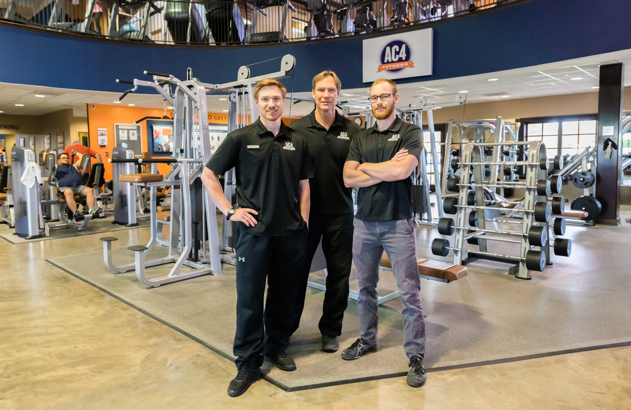 AC4 Fitness Father and 2 sons